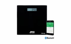 A&d Medical - UC-352BLE - LifeSource Precision Health Scales - Deluxe Connected Weight Scale BLE