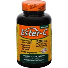American Health - From: 2686956 To: 2686974 - Ester C 500mg w/Citrus Bioflavins