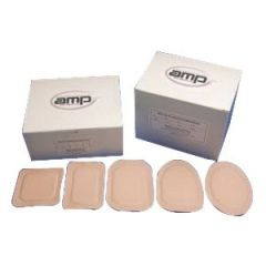 Austin Medical From: DE To: F1 - Ampatch Style DE With Round Center Hole DM F-1 1