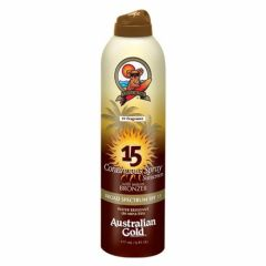Australian Gold From: A70577 To: A70578 - Australian Gold SPF 15 Continuous Spray Bronzer, 6 Ounce 30 Spray, Clear