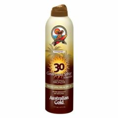 Australian Gold From: A70601 To: A70606 - Australian Gold SPF 30 Continuous Spray Bronzer, 6 Ounce 15 Sheer Coverage Lotion