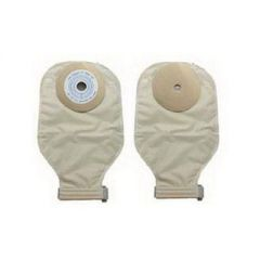 Nu-Hope From: 40-7411-1/2C To: 40-7411-MC - Skin Barrier Wafer Drain Opaque Hlfconvex Convex Nu-Self Drainable Pouch W/Barr, Opq 1-Piece