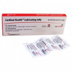 Reliamed From: LJ33107G To: LJ33121 - Cardinal Health Lubricating Jelly 3g Packet. Flip Top Tube, Sterile