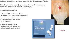 Cymed From: 87210 To: 87230 - Absrb Ost Ilesorb Gran Pk The Original Ile-Sorb Absorbent Gel Packets